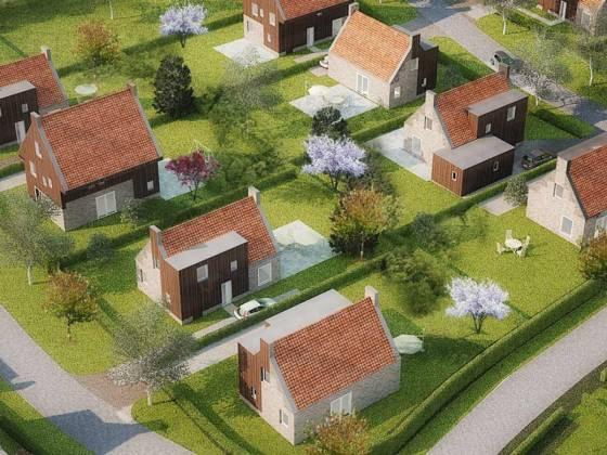 Bouw een eigen woning in meerstad de zwarte hond